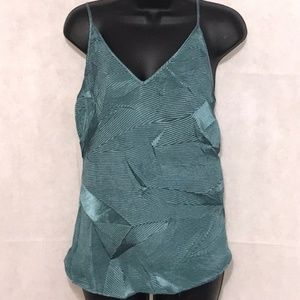 NWT Anthropologie Floreat || Green Top Size Large